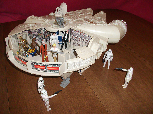 The Millennium Falcon - One Badass Toy